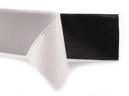 klettverschluss haken selbstklebend breite 50 mm schwarz. Black Bedroom Furniture Sets. Home Design Ideas