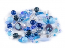 Fire polished Rumsh Glass Beads