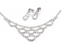 Strass Schmuck Set