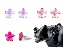 Ohrstecker Swarovski Elements Blume
