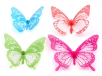 Dekoration Schmetterling 3D Set