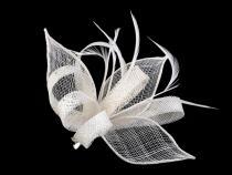 Fascinator / Brosche Blume