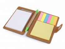 Notizblock mit Post it