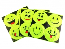 Reflective Stickers - Smiley Face
