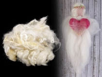 Wool Fleece Roving for Hair 20 g